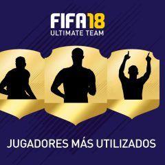 Éstos son los jugadores más utilizados de FUT 18
