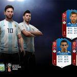 FUT 18 World Cup. Stats de los jugadores de Argentina