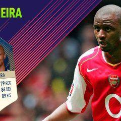FIFA 18 Ultimate Team. Análisis de Patrick Vieira (86)