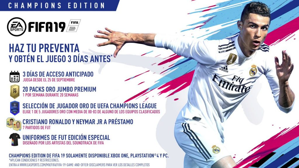 Champions Edition FIFA 19