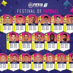 Festival of Futball. Primer equipo