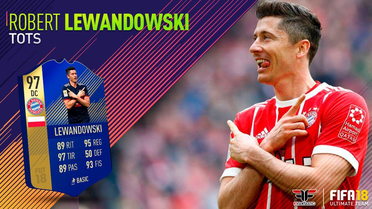Fifa 18 Lewandowski