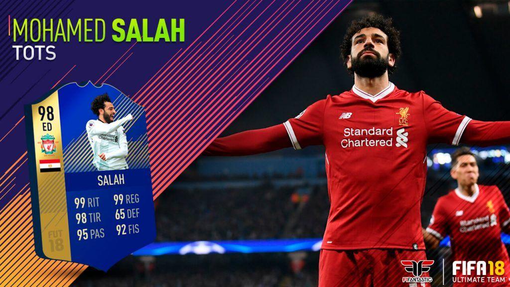 Review Salah TOTS FIFA 18 Ultimate Team