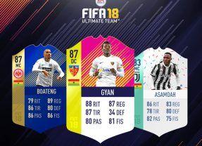 Híbrido original en torno a futbolistas de Ghana