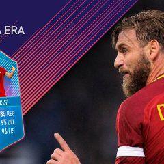 FIFA 18 Ultimate Team. Análisis de De Rossi Fin de una Era