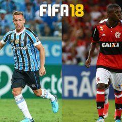 Juega con Vinicius Jr y Arthur en FIFA 18