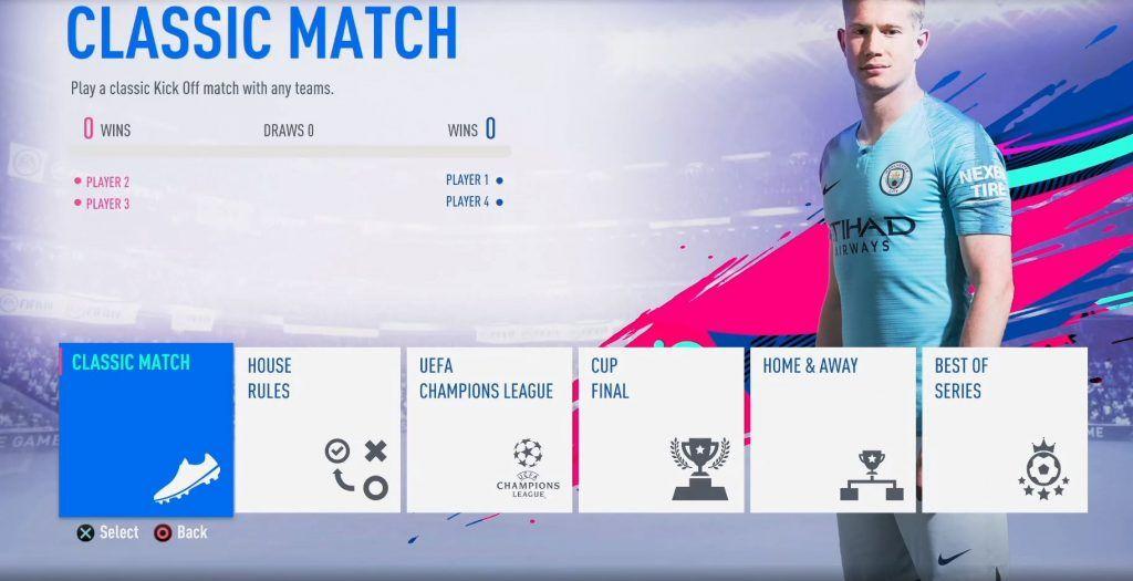 Kick Off de FIFA 19