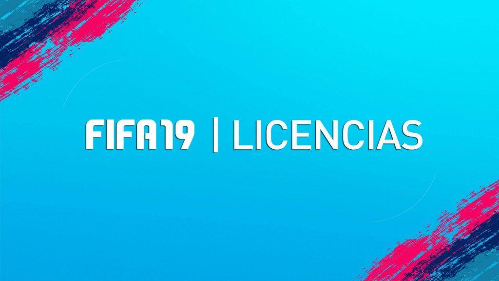 Licencias de FIFA 19