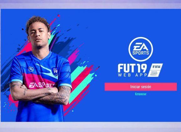 Ya está abierta la Web App de FUT 19