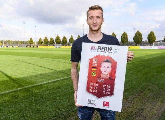 Reus es elegido POTM de la Bundesliga de septiembre