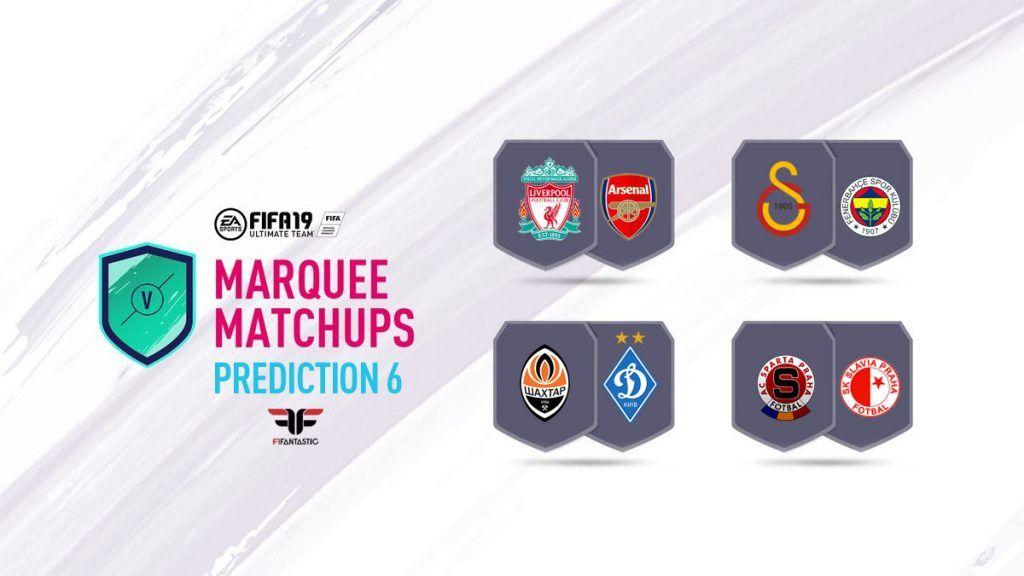 Predicción de las Marquesinas de FIFA 19 Ultimate Team