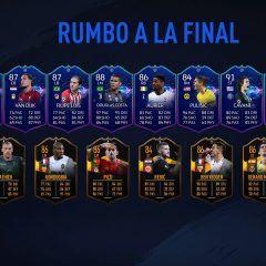 Nuevos jugadores Road to the Final en FUT 19