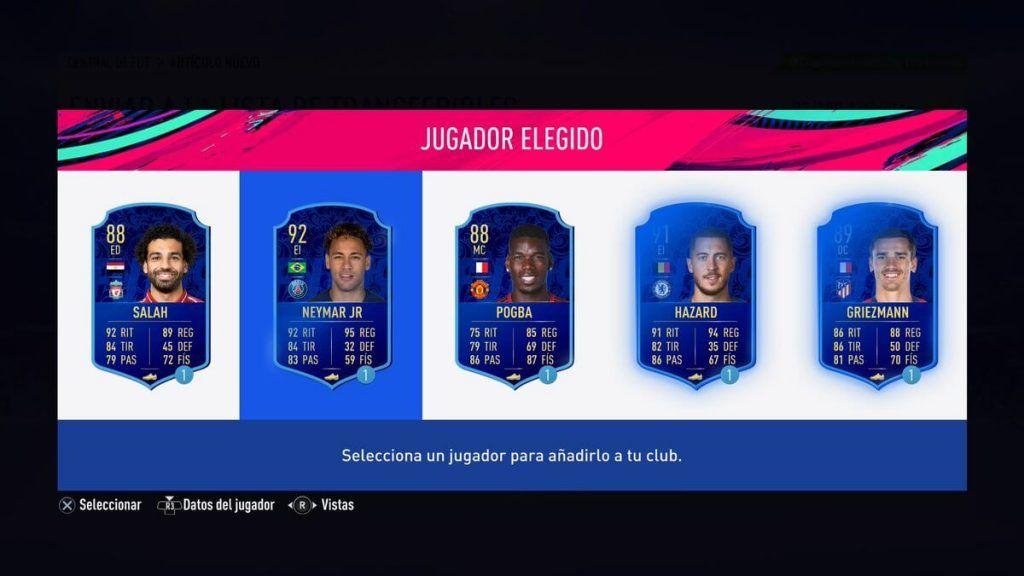 Votación TOTY adicional FIFA 19 Ultimate Team