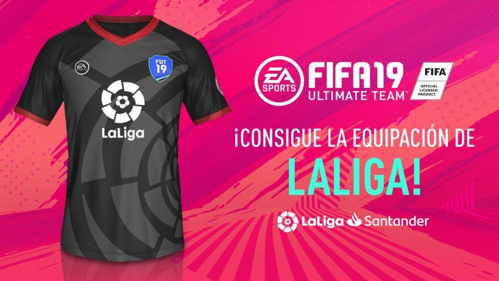 Equipación Liga Santander FIFA 19 Ultimate Team