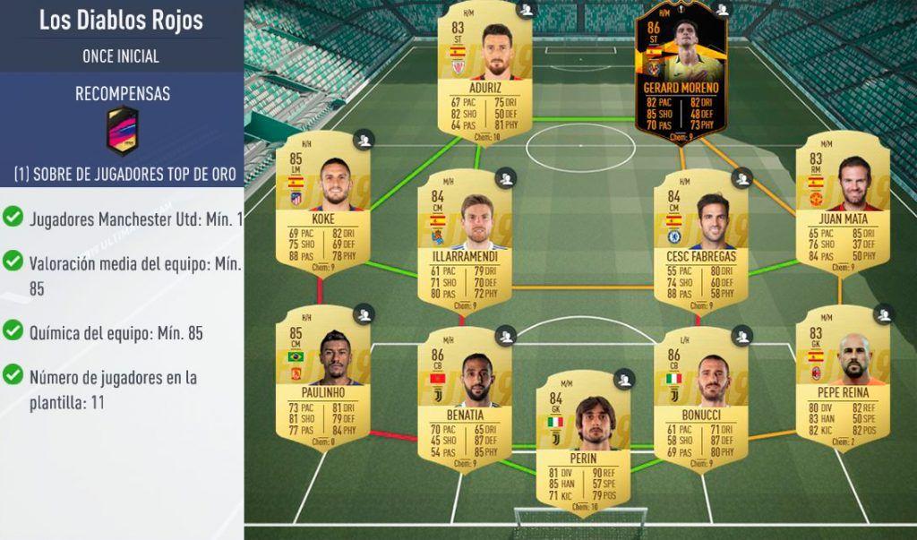 Squad Builder Challenge Flashback de Tévez FIFA 19 Ultimate Team