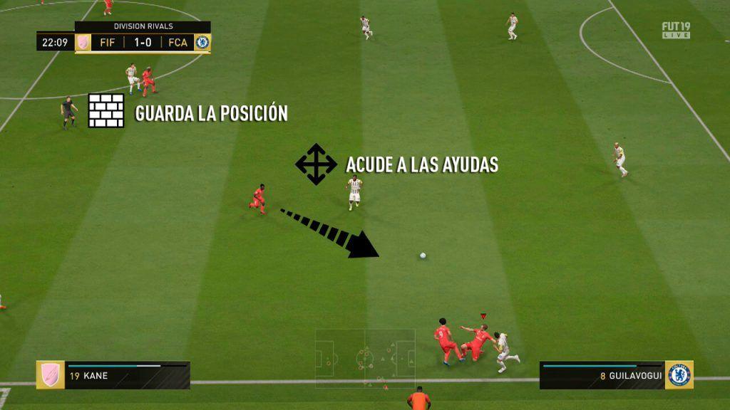Rango de acción mediocentros satélite FIFA 19