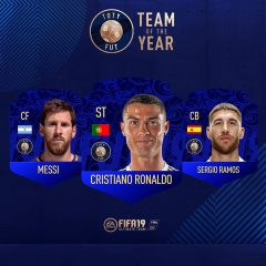 Éste es el Team of the Year de FIFA 19