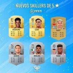 FIFA 19. Actualización de skills y pierna mala