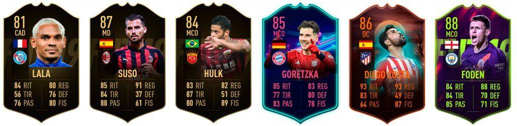 Ocasiones de Trueque de marzo FIFA 19 Ultimate Team