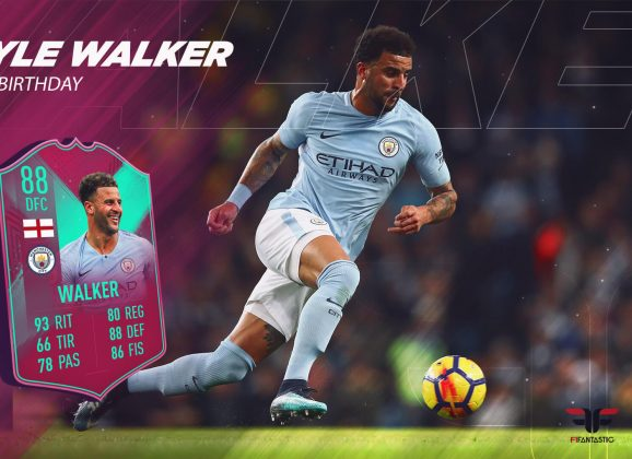 FIFA 19 Ultimate Team. Review de Walker FUT Birthday