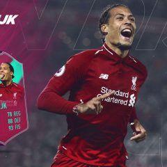 FIFA 19 Ultimate Team. Review de Van Dijk FUT Birthday
