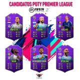 FIFA 19. Candidatos al POTY de la Premier League