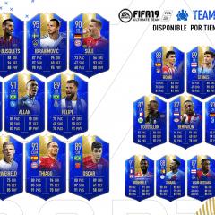 FUT 19. Team of the Season Most Consistent