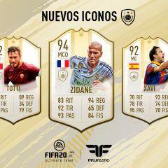 Diez nuevos Iconos que me gustaría ver en FIFA 20