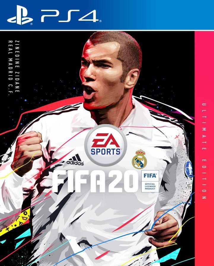 Portada Zidane en FIFA 20
