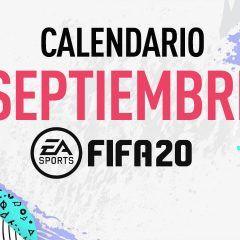 Calendario de septiembre de FIFA 20