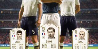 Así serán las cartas de Zidane en FIFA 20