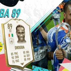 FIFA 20 Ultimate Team. Review de Didier Drogba (89)