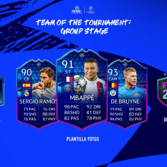 FIFA 20. Ya está disponible el Team of the Group Stage