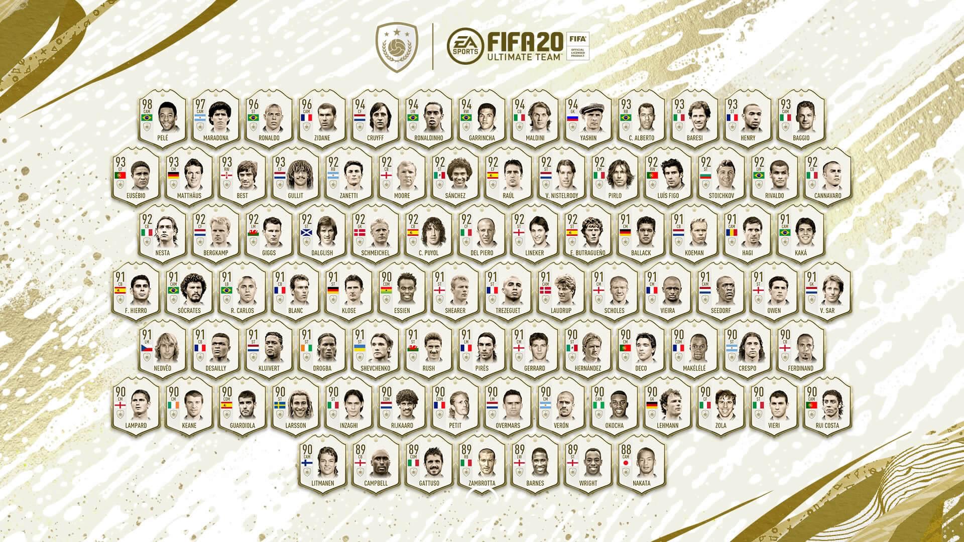 Iconos Prime de FIFA 20