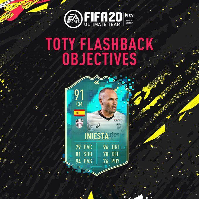 Iniesta Flashback FIFA 20