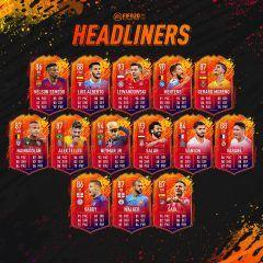 FIFA 20. Ya disponible el primer equipo de Headliners