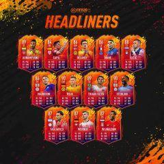 FIFA 20. Éste es el segundo equipo de Headliners