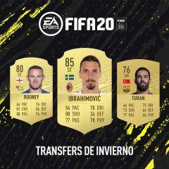 FIFA 20. Transfers de invierno
