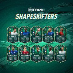 Segundo equipo de los Shapeshifters de FIFA 20