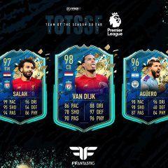 FIFA 20. Predicción del TOTSSF de la Premier League
