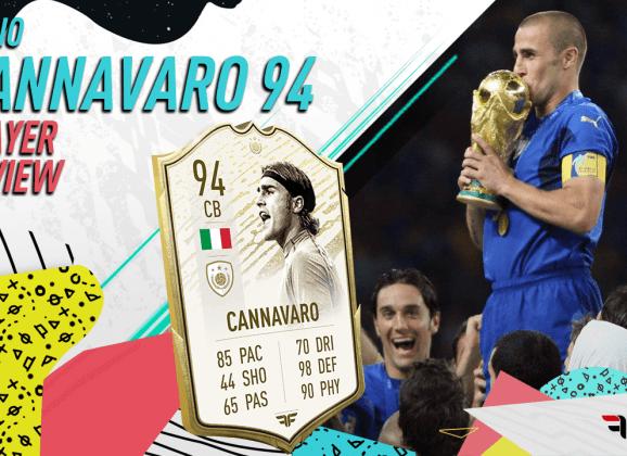 FIFA 20 Ultimate Team. Review de Fabio Cannavaro (94)