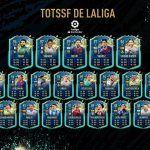 FIFA 20. Team of the Season So Far de La Liga