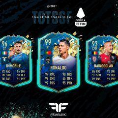 FIFA 20. Predicción del TOTSSF de la Serie A