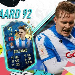 FIFA 20 Ultimate Team. Review de Martin Odegaard TOTSSF