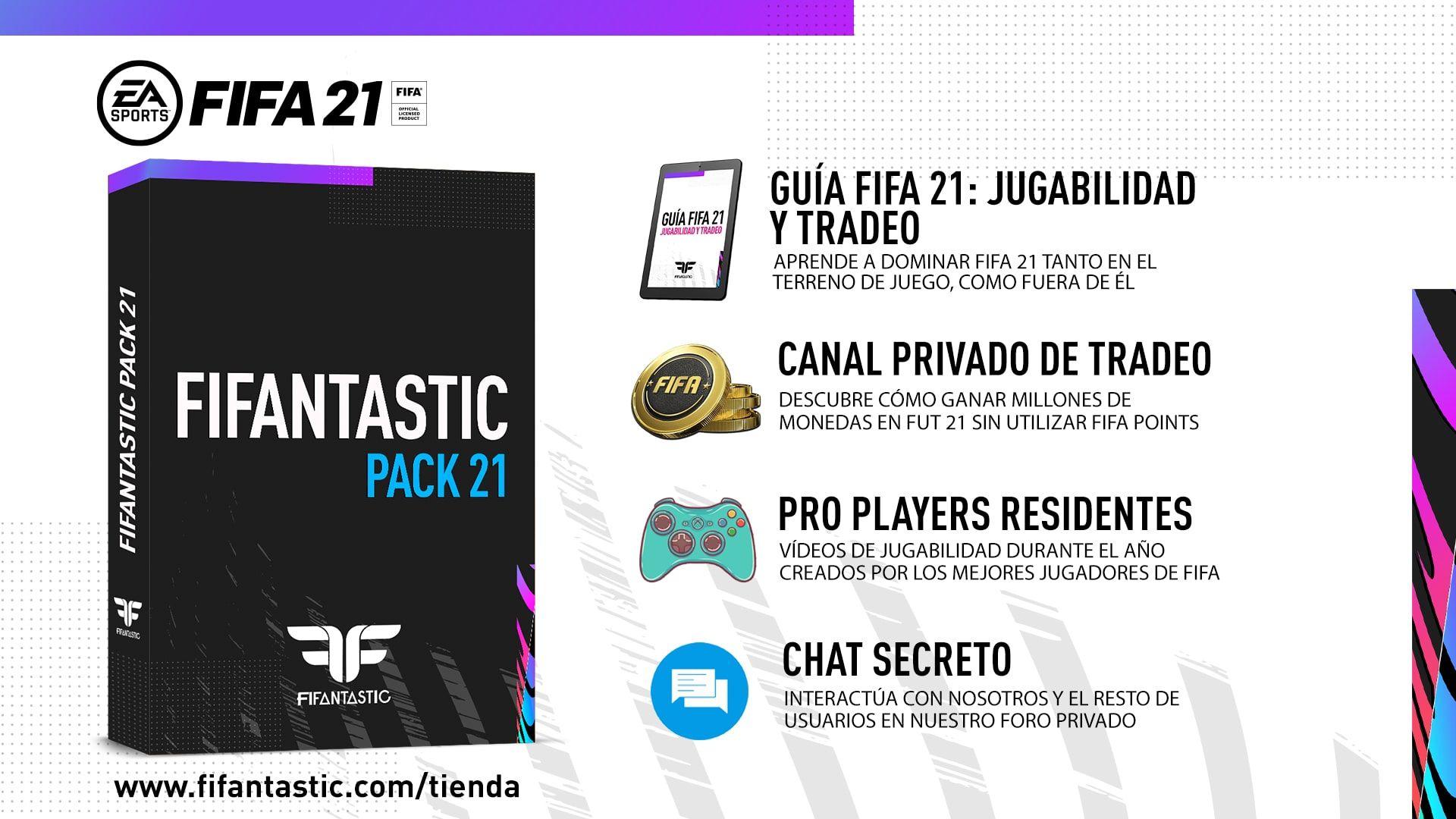 Contenido FIFAntastic Pack 21