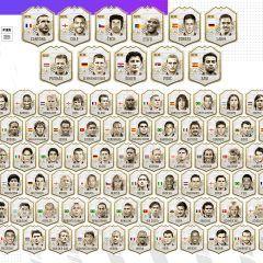 Éstos son los Iconos de FIFA 21 Ultimate Team