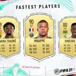 Éstos son los jugadores más rápidos de FIFA 21