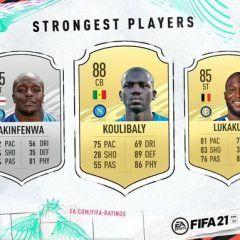 Los jugadores más fuertes de FIFA 21