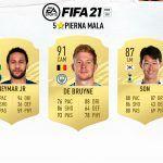 FIFA 21. Jugadores con 5 estrellas de pierna mala
