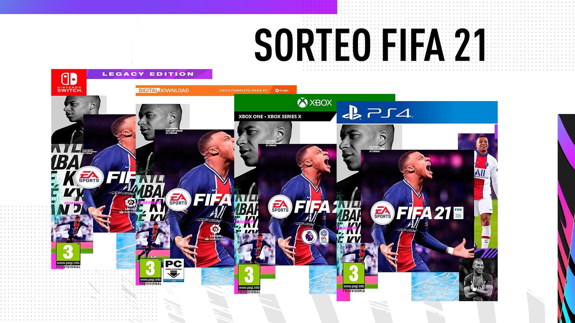 Sorteo de FIFA 21